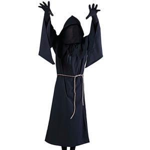 死神 男性用 大人用 コスチューム コスプレ 衣装 仮装 パーティー グッズ ハロウィン|nicoly