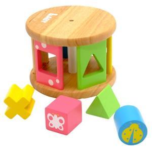 積み木 木のおもちゃ 1歳 2歳 3歳 子供 誕生日プレゼント 赤ちゃん KOROKOROパズル|nicoly