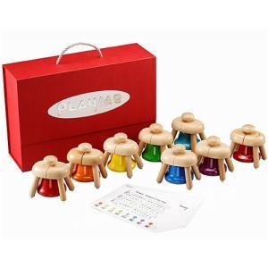 楽器 音楽 木のおもちゃ 3歳 4歳 5歳 子供 誕生日プレゼント パットベル nicoly