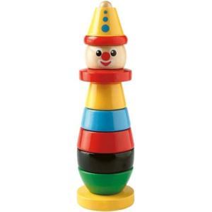 知育玩具 2歳 3歳 4歳 木のおもちゃ 誕生日プレゼント クラウン|nicoly