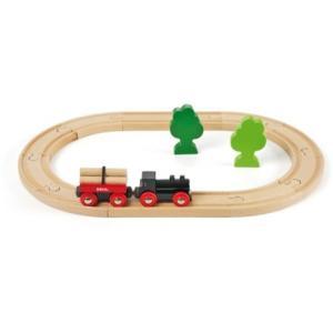 木製レール 3歳 4歳 5歳 子供 誕生日プレゼント 小さな森の基本レールセット|nicoly