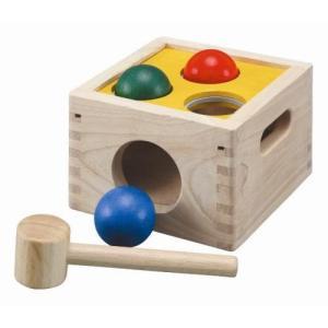 木のおもちゃ ハンマートイ 1歳 2歳 3歳 子供 誕生日プレゼント こんこんコロロ|nicoly