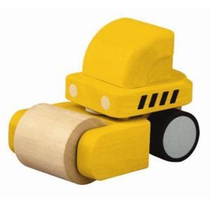 木のおもちゃ 車 木製 赤ちゃん 子供 2歳 3歳 4歳 誕生日プレゼント ミニローラー|nicoly