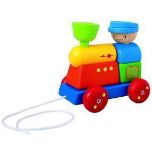 プルトイ 木のおもちゃ 1歳 2歳 3歳 誕生日プレゼント ソーティングトレイン|nicoly