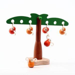 知育玩具 3歳 4歳 5歳 木のおもちゃ 誕生日プレゼント おさるのバランスゲーム|nicoly