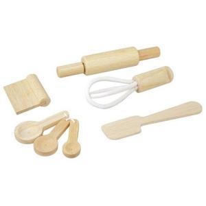 ままごと キッチン 木のおもちゃ 3歳 4歳 5歳 子供 誕生日プレゼント ベーキングセット ベーキングセット|nicoly