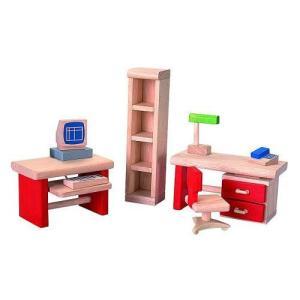 ドールハウスキット 木のおもちゃ 木製 女の子 子供 3歳 4歳 5歳 誕生日プレゼント 家具 ホームオフィス|nicoly