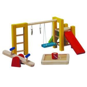 ドールハウスキット 木のおもちゃ 木製 女の子 子供 3歳 4歳 5歳 誕生日プレゼント 家具 公園|nicoly
