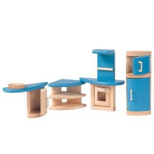 ドールハウスキット 木のおもちゃ 木製 女の子 子供 3歳 4歳 5歳 誕生日プレゼント 家具 デコー キッチン|nicoly