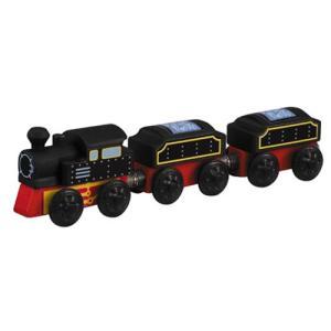 木製レール 電車 木のおもちゃ 3歳 4歳 5歳 誕生日プレゼント クラシック列車|nicoly