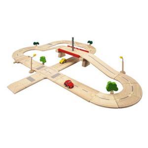 木製レール 電車 木のおもちゃ 3歳 4歳 5歳 誕生日プレゼント ロードシステム デラックス nicoly