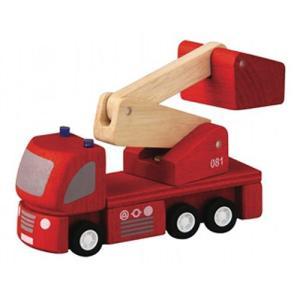 木製レール 電車 木のおもちゃ 3歳 4歳 5歳 誕生日プレゼント 消防車 nicoly