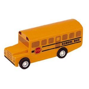 木製レール 電車 木のおもちゃ 3歳 4歳 5歳 誕生日プレゼント スクールバス nicoly