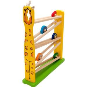 スロープ 赤ちゃん 子供 木のおもちゃ 1歳 2歳 3歳 誕生日プレゼント キリンスロープ|nicoly