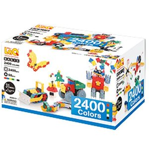 ブロック おもちゃ 4歳 5歳 6歳 子供 誕生日プレゼント LaQ ラキュー ベーシック2400 カラーズ