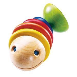 がらがら 赤ちゃん 木のおもちゃ 0歳 1歳 誕生日プレゼント ラトル・モビー|nicoly