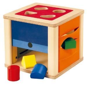 積み木 木のおもちゃ 1歳 2歳 3歳 子供 誕生日プレゼント 赤ちゃん トリダスボックス|nicoly