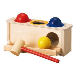 木のおもちゃ ハンマートイ 1歳 2歳 3歳 子供 誕生日プレゼント パロ|nicoly