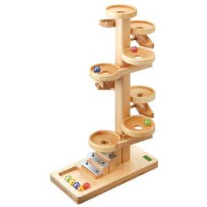 スロープ 赤ちゃん 子供 木のおもちゃ 1歳 2歳 3歳 誕生日プレゼント トレイクーゲルタワー|nicoly