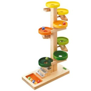 スロープ 赤ちゃん 子供 木のおもちゃ 1歳 2歳 3歳 誕生日プレゼント トレイクーゲルタワー レインボー|nicoly