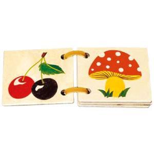 知育玩具 0歳 1歳 2歳 赤ちゃん おもちゃ 子供 誕生日プレゼント 木の絵本 ナチュラル ミニ nicoly