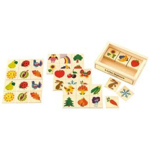 カードゲーム 木のおもちゃ 2歳 3歳 4歳 子供 誕生日プレゼント ロト ナチュラル nicoly