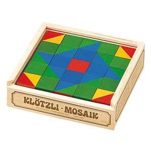 パズル 子供 幼児 知育玩具 木のおもちゃ 2歳 3歳 4歳 誕生日プレゼント キューブモザイク 25pcs nicoly