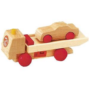 木製レール 電車 木のおもちゃ 3歳 4歳 5歳 誕生日プレゼント ロードセット トレーラー|nicoly