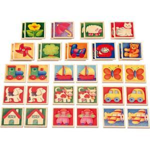 知育玩具 3歳 4歳 5歳 木のおもちゃ 誕生日プレゼント ペアカード|nicoly