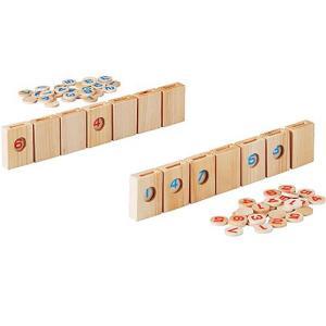 知育玩具 4歳 5歳 6歳 木のおもちゃ 誕生日プレゼント パズル道場 セブンカード|nicoly