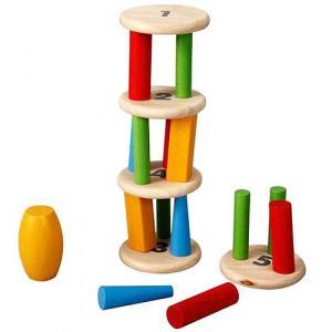 知育玩具 3歳 4歳 5歳 木のおもちゃ 誕生日プレゼント タワースタッキング|nicoly