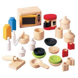 ドールハウスキット 木のおもちゃ 木製 女の子 子供 3歳 4歳 5歳 誕生日プレゼント 家具 キッチン&テーブルウェアアクセサリー|nicoly
