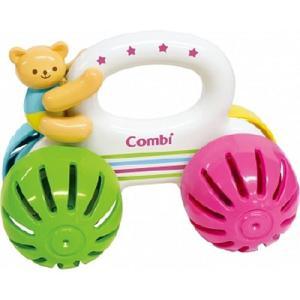 がらがら 赤ちゃん おもちゃ 0歳 1歳 誕生日プレゼント プッシュトーイ くまさんコロコロベル2|nicoly