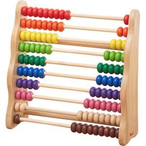 知育玩具 3歳 4歳 5歳 木のおもちゃ 誕生日プレゼント レインボーアバカス|nicoly
