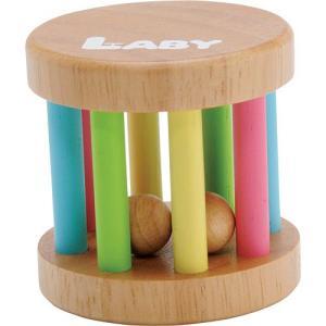 がらがら 赤ちゃん 木のおもちゃ 0歳 1歳 誕生日プレゼント KOROKOROラトル|nicoly