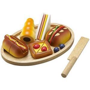 ままごと キッチン 木のおもちゃ 3歳 4歳 5歳 子供 誕生日プレゼント パン職人|nicoly