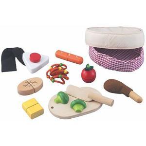 ままごと キッチン 木のおもちゃ 3歳 4歳 5歳 子供 誕生日プレゼント 木と布のコラボ 手作りおべんとう|nicoly