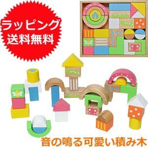 積み木 木のおもちゃ 1歳 2歳 3歳 子供 誕生日プレゼント 赤ちゃん SOUNDブロックス Large nicoly
