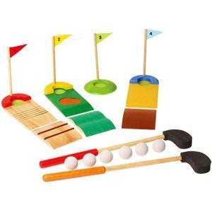 ゲーム 木のおもちゃ 3歳 4歳 5歳 子供 誕生日プレゼント ゴルフセット|nicoly