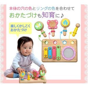楽器 音楽 木のおもちゃ 1歳 2歳 3歳 子供 誕生日プレゼント ファーストMUSIC SET nicoly 03