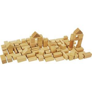 積み木 木のおもちゃ 1歳 2歳 3歳 子供 誕生日プレゼント 赤ちゃん HEROS 筒入積木 白木 50ピース|nicoly