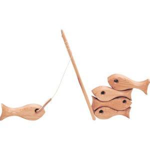 ゲーム 木のおもちゃ 2歳 3歳 4歳 子供 誕生日プレゼント 魚釣り|nicoly