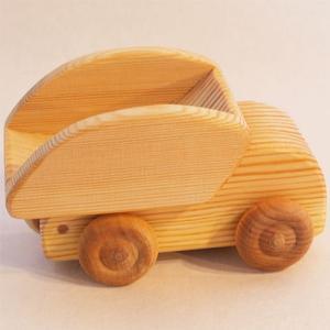 木のおもちゃ 車 2歳 3歳 4歳 子供 誕生日プレゼント 北欧のトラック 小|nicoly
