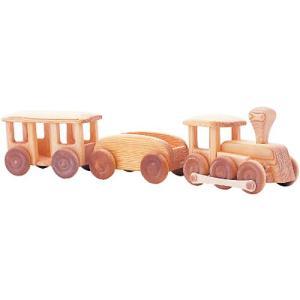 木のおもちゃ 車 2歳 3歳 4歳 子供 誕生日プレゼント 北欧の汽車|nicoly