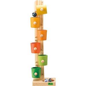 スロープ 木のおもちゃ 1歳 2歳 3歳 子供 誕生日プレゼント ローラーカップ・カラー|nicoly