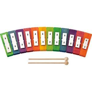 楽器 音楽 鉄琴 子供 子供 誕生日プレゼント レインボーグロッケン・ダイアトニック12音|nicoly