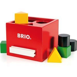 積み木 木のおもちゃ 1歳 2歳 3歳 子供 誕生日プレゼント 赤ちゃん 形あわせボックス 赤|nicoly