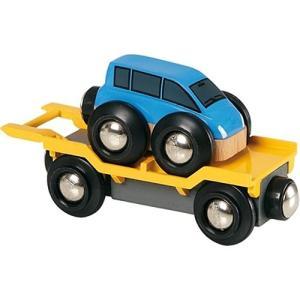 木製レール 3歳 4歳 5歳 子供 誕生日プレゼント カートランスポーター 木のおもちゃ|nicoly