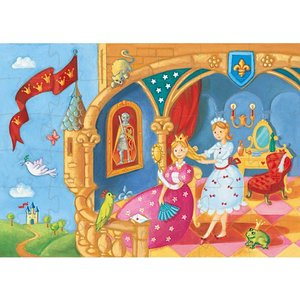 パズル 子供 幼児 4歳 5歳 6歳 子供 誕生日プレゼント プリンセス&フロッグ|nicoly