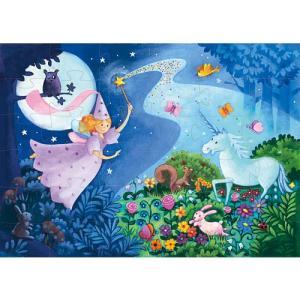 パズル 子供 幼児 4歳 5歳 6歳 子供 誕生日プレゼント フェアリー&ユニコーン|nicoly